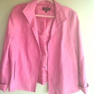 🌸TALBOTS Pink Blazer size 16🌸